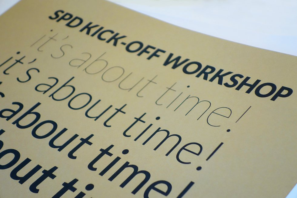 The kick off workshops, 2014 edition. A photoreport
