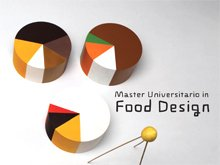 The presentation of the Master's in food design on 5 november