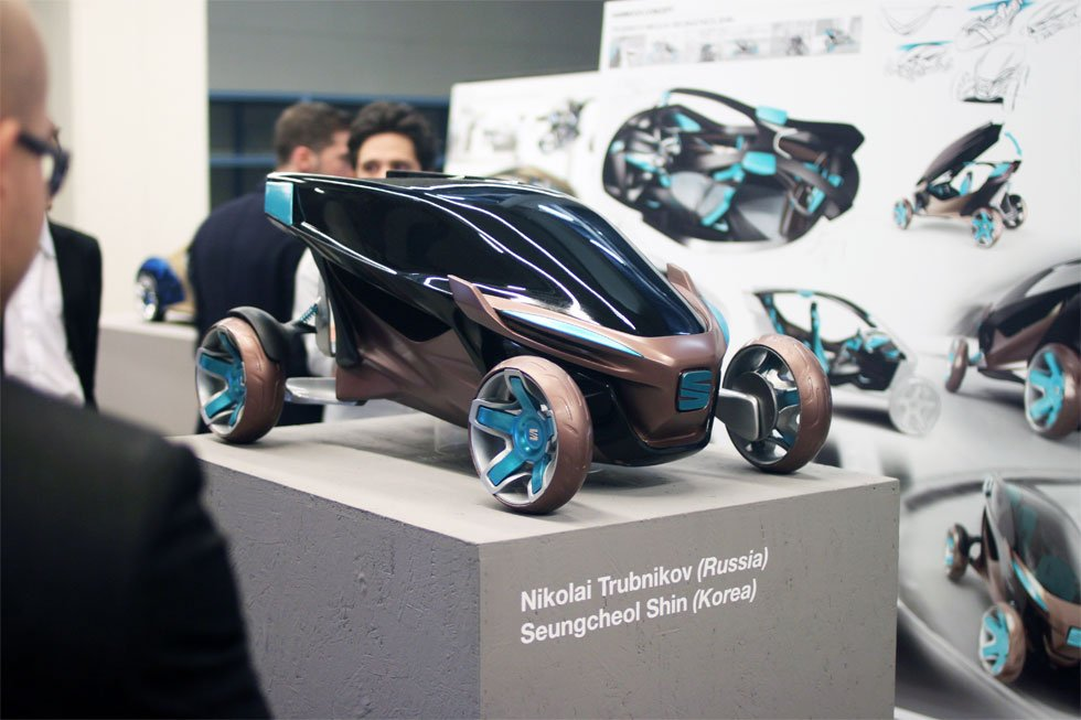 SPD Scuola Politecnica di Design, Car design show 2014, Seat model