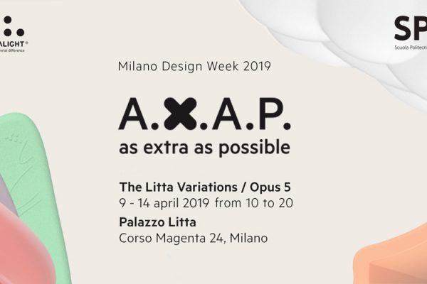 AXAP As Extra As Possible SPD MDW2019