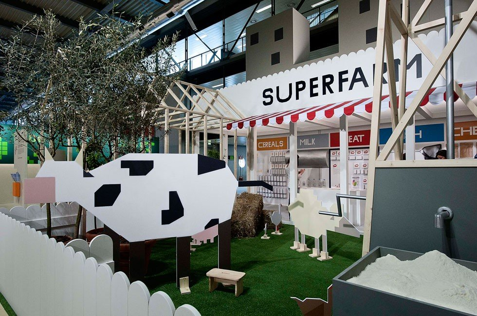 Superfarm Exhibition - H. Juliusson, J. Pais and R. Pereira
