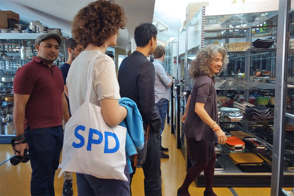 "SPD at Alessi's ""dream factory"", the place to be for students and design addicts"